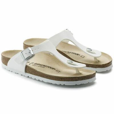 Birkenstock GIZEH Birko Flor, Women's Flip Flop Sandals, Silver, 5.5 UK (39 EU)