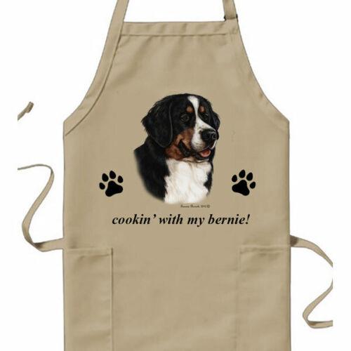 Bernese Mountain Dog Cookin Apron Home Garden Aprons