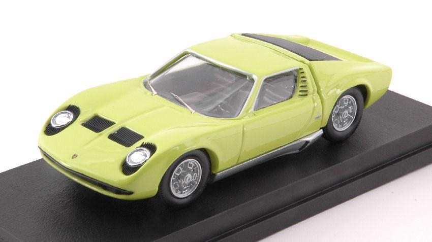 Lamborghini Miura Bertone P400s 1966 Lime vert 50th Anniversary 1 43 Model RIO