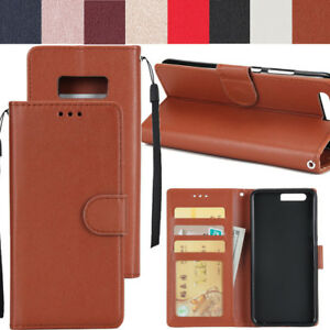 wholesale dealer 84dc8 9610e Details about Flip Rattan Stand Leather Wallet Case Cover For Samsung  Galaxy A8 2018 Note 8 S8