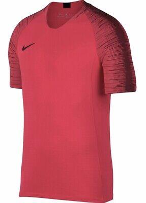 Nike VaporKnit Strike Men/'s Short-Sleeve Football Top L XL Black Soccer Shirt