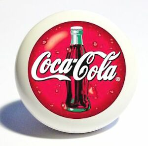 COKE KITCHEN HOME DECOR CERAMIC 1 1/2 OVER SIZED KNOB DRAWER CABINET PULL