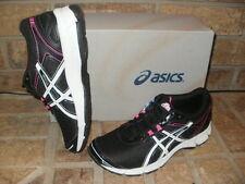 New ASICS Gel Quick Walk 2 Shoe/Black-White-Pink Women 6 M/ Q743N 9001
