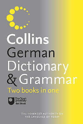 1 of 1 - Collins German Dictionary and Grammar by HarperCollins Publishers (Paperback,...