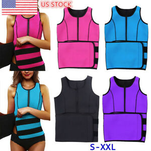 071e44e2942ba Image is loading US-Womens-Neoprene-Waist-Trainer-Corset-Sweat-Belly-