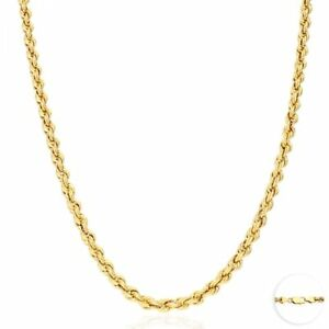 14K-Yellow-Gold-Hollow-5mm-Rope-Link-Chain-Necklace-22-034
