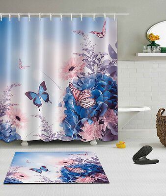 "72//79/"" Abstract Dragon Shower Curtain Bathroom Waterproof Fabric Bath Mat 2449"