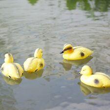 New Yellow Duck Statues Handcrafted Garden Yard Lawn Patio Art Sculpture  Decor