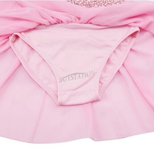 Kid Girl Ballet Dance Tutu Dress Gymnastics Leotard Skirt Tutu Dancewear Costume