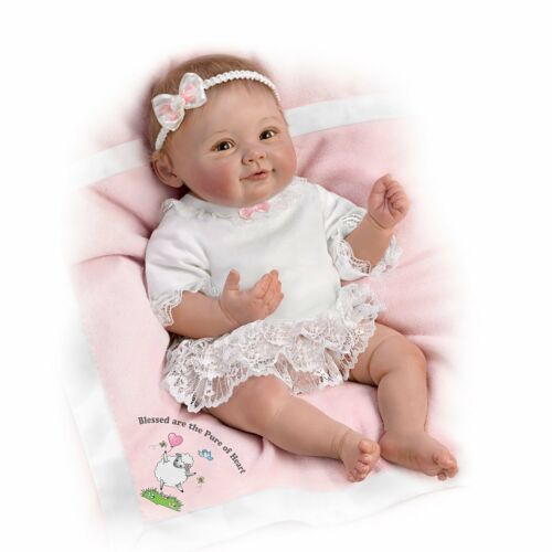 Blessed Are The Pure At Heart 18'' Ashton Drake Doll NRFB