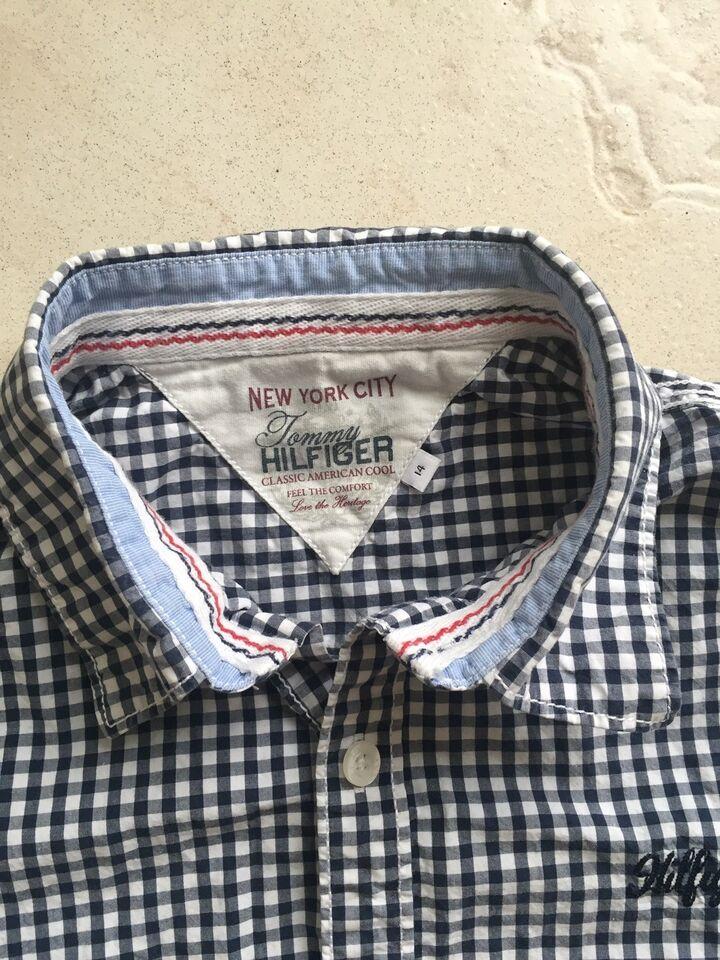 Skjorte, Bomuld, Tommy Hilfiger