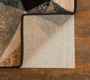 Vitos Casa Extra Thick Non-Slip Area Rug Pad   Can Be Trimmed For Hard Floor