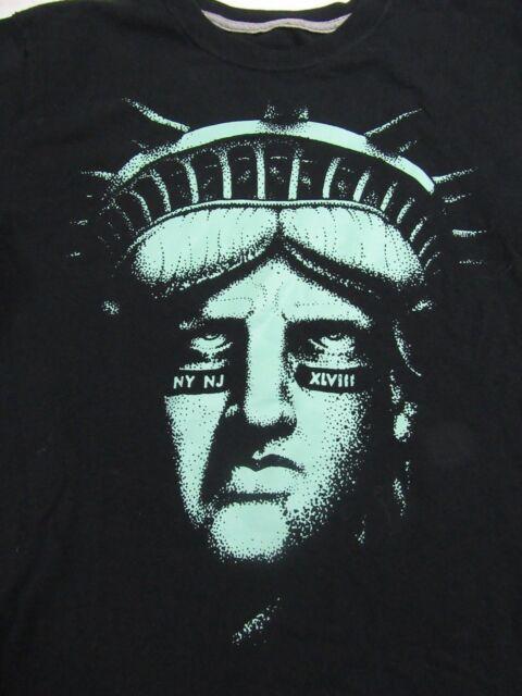 990ffe28 Super Bowl XLVIII Statue Of Liberty Nike T-Shirt S | eBay