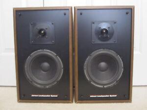 advent 3002 vintage 2 way speakers refoamed tested local. Black Bedroom Furniture Sets. Home Design Ideas
