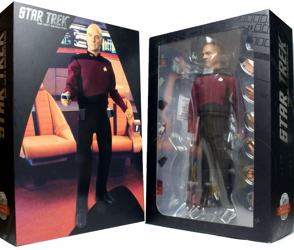 Star Trek Tng Patrick Stewart as Captain Jean-luc Picard 1 6 Scale Action Figure