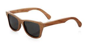 a529edc92c0c Image is loading Shwood-Canby-Polarized-Wood-Sunglasses -Herringbone-Frame-Grey-