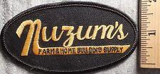 NUZUM'S FARM & HOME BUILDING SUPPLY PATCH (HARDWARE, LUMBER)