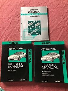 image is loading toyota-celica-electrical-wiring-diagram-repair-manual-1995-