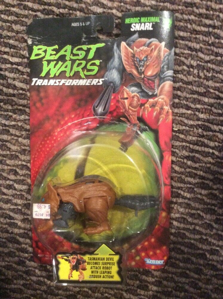 Transformers Beast Wars Snarl MIB 1996