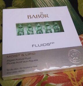 Babor-Moist-amp-Lipid-Algae-Active-Fluid-7-ampoules-NEW-IN-BOX