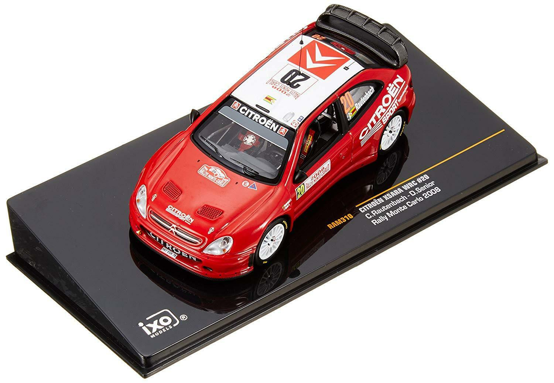 CITROEN XSARA WRC  20 RALLY MONTE CARLO 2008 RAUTENBACH SENIOR IXO 1 43 RAM310