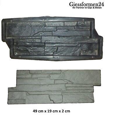"""Gips /& Beton Gießformen /""""Ahorn Blatt/"""" Verbundpflastersteine 6 Schalungsformen"""