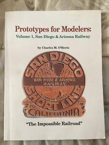 Prototypes-para-Modelers-Volumen-1-San-Diego-y-Arizona-Ferrocarril-Carlos-o-039