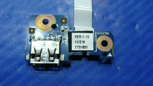 """HP 14-an012nr 14/"""" Genuine Laptop USB Port Board with Cable"""