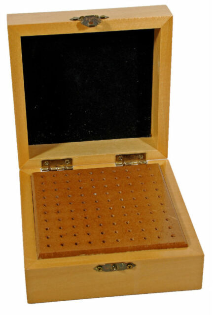 Wood Bur Box For Rotary Bits and Dremel Accessory Tools