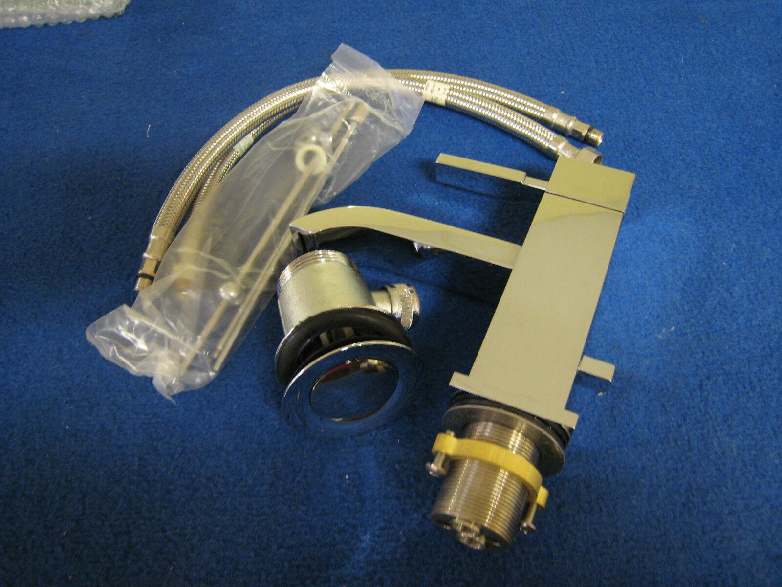 Steinberg  Armatur mit Ablauf Waschtisch-Einhebelmischbatterie Messing 135 1000