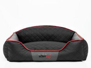 Hobbydog Dog Bed Coussin de couchage pour chien XL avec matelas Elite Dog - Gris