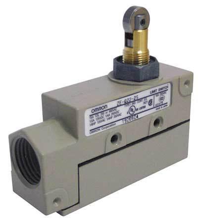 SPDT Limit Switch Roller Plunger Nema 1 IP 60 OMRON ZE-Q22-2S