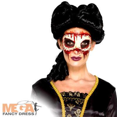 Prezzo Più Basso Con Masquerade Face Off Prosthetic Costume Donna Halloween Costume Accessorio-mostra Il Titolo Originale Con Le Attrezzature E Le Tecniche Più Aggiornate