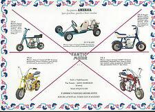 Mini Cross TX6 e Mini Matic TX7 - Kart America  - Fantic Motor anni 70  Aspera