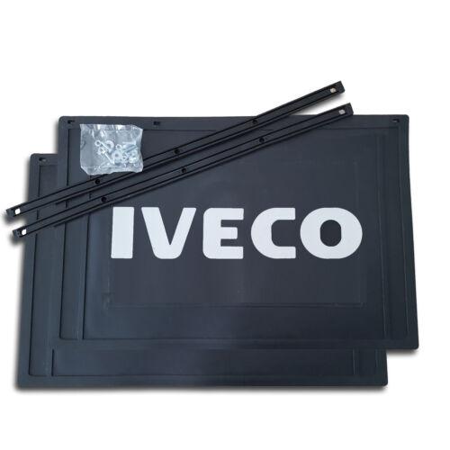 2 x Schmutzfänger 600//550 x 400 Spritzlappen Spritzschutz LKW Anhänger IVECO