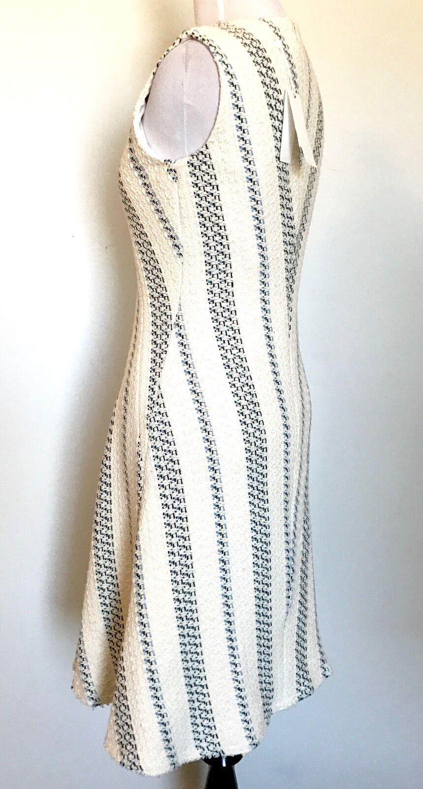 Tory Burch Cream Woven Stacey Dress. Dress. Dress. NWT Retail  425  Price  190 Size 2 0e4e6d