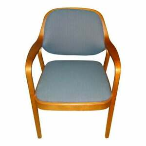 Vintage-Don-Petitt-Knoll-Mid-Century-Modern-Bentwood-Chair-4-avail-VERY-NICE