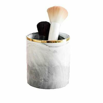 pahdecor ceramic pen pencil cup holder organizersgrey