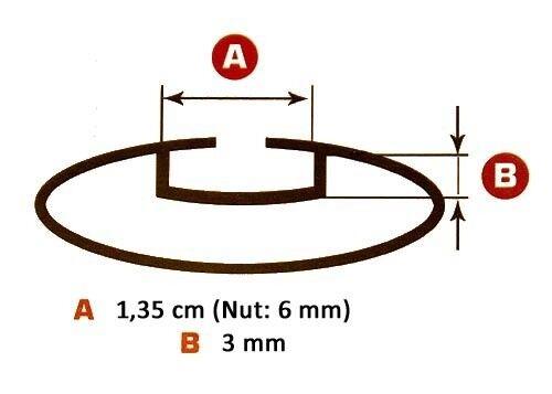 Dachbox VDP-BA320 320 Liter Alu Relingträger Dachträger VDP 120cm abschließbar