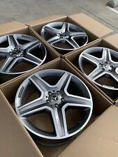 20 Mercedes Benz Gle350 Gle400 Gle Ml350 Factory Oem Amg Wheels Rims 20 Gray