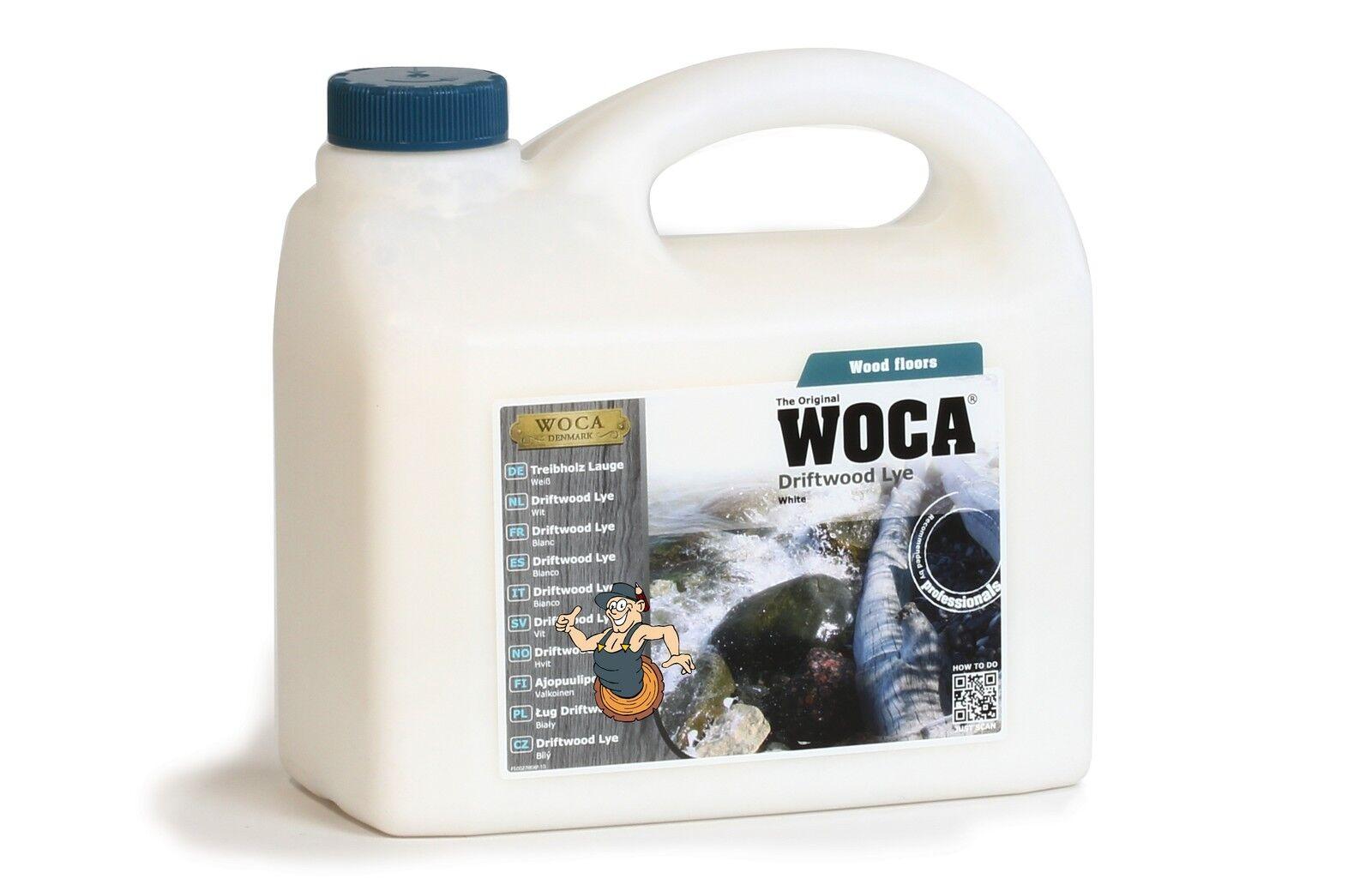 WOCA Treibholzlauge weiß weiß weiß 2,5 Liter 66e6ce