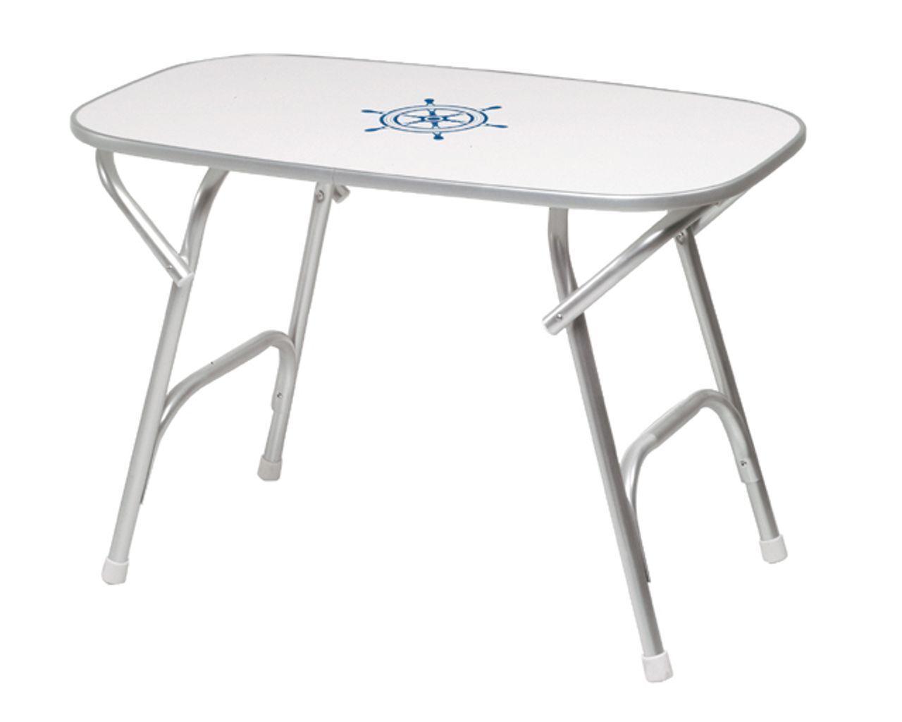 Forma Tavolo m450 RETTANGOLARE ALLUMINIO ANODIZZATI campeggio tavolo da giardino balcone BARCA