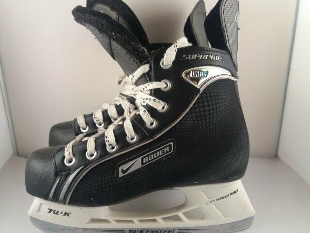Cinemática basura Representación  Nike Bauer Supreme One05 Ice Hockey Skates UK Size 11 for sale | eBay