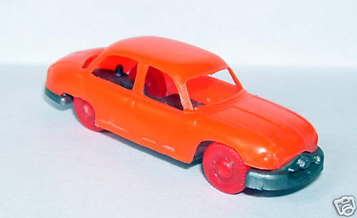 MICRO MICRO MICRO JOUEF HO 1 86 1 87 PANHARD DYNA ORANGE FLUO roues rouge 1a026c