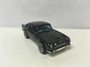 Hot-Wheels-Personalizado-Con-Real-Riders-Negro-1963-Aston-Martin-DB5