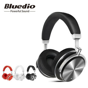 Bluedio-T4S-Bluetooth-4-2-Headphones-Noise-cancelling-Wireless-On-Ear-Headsets