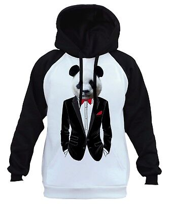New Men/'s White Diamond Camo//Black Raglan Hoodie Funny Humor Cali Bling College
