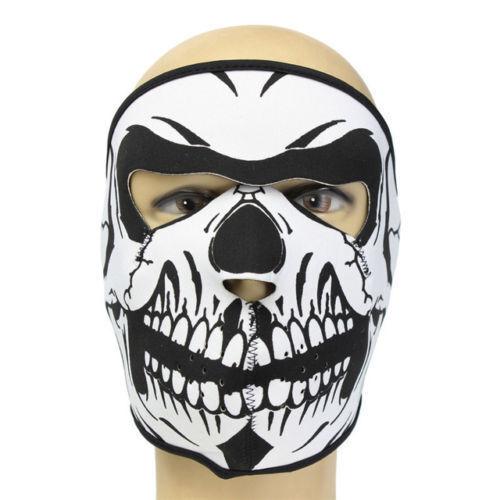 Neoprene Skull Full Face Mask Winter Snow Sports CS Motorcycle Ski Bike Cycling