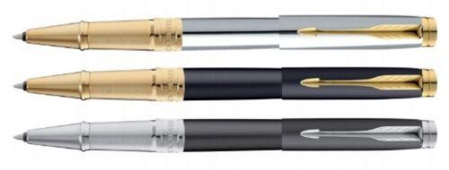 Parker Premium ASTER Shiny Chrome Matte Black  Roller Ball Pen 3 Variants