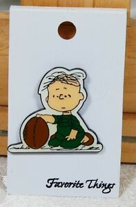 "Peanuts Gang /""Snoopy Dragging Linus/"" Enamel Lapel Pin by Favorite Things cartoon"